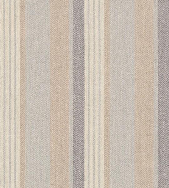 Polsterstoff Möbelstoff Vedanta - Grau - Gestreift