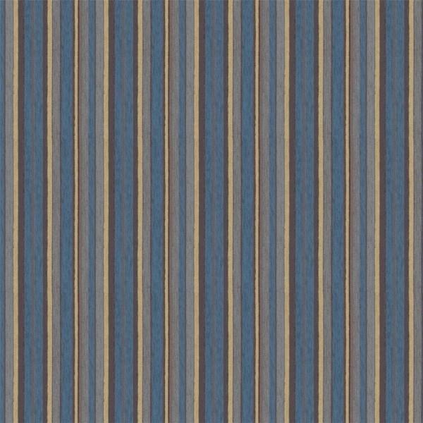 Polsterstoff Möbelstoff Arosa - Polyester - Teflon blau