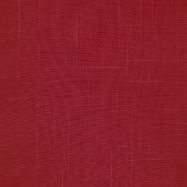 Gardinenstoffe Vorhangstoffe Halbtransparent Saskia Natur Rot