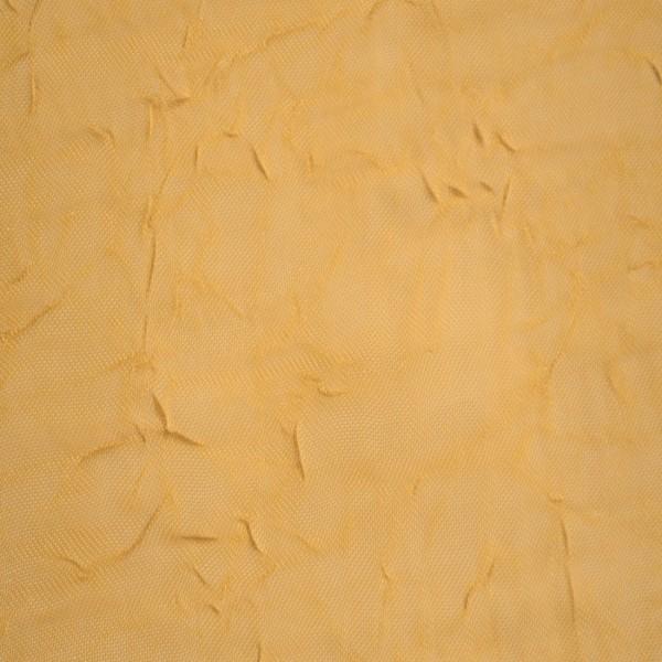 Gardinenstoffe Vorhangstoffe Transparent Sandy Crash Uni Gelb