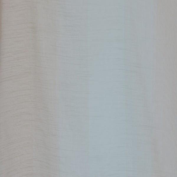 Gardinenstoffe Vorhangstoffe Transparent Rainbow Gestreift Blau