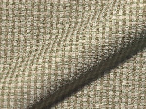 Polsterstoff Attersee - grün kariert