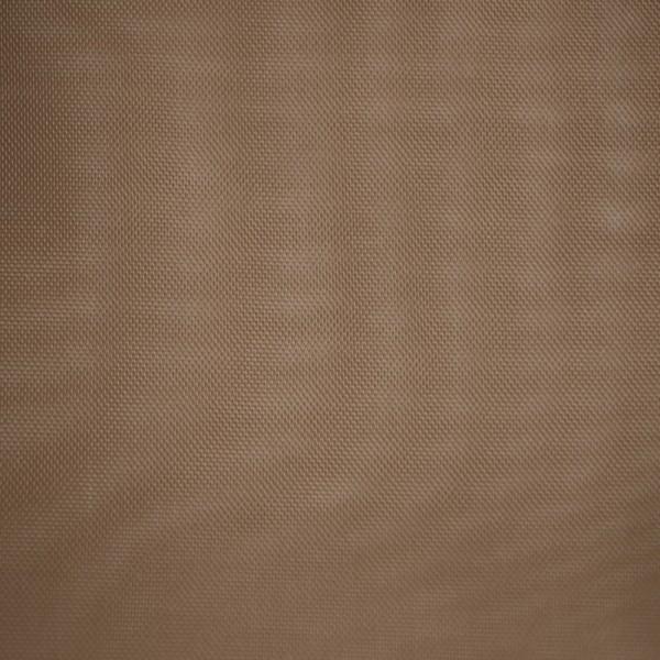 Gardinenstoffe Vorhangstoffe Transparent Sandy Uni Braun